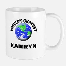 World's Okayest Kamryn Mugs