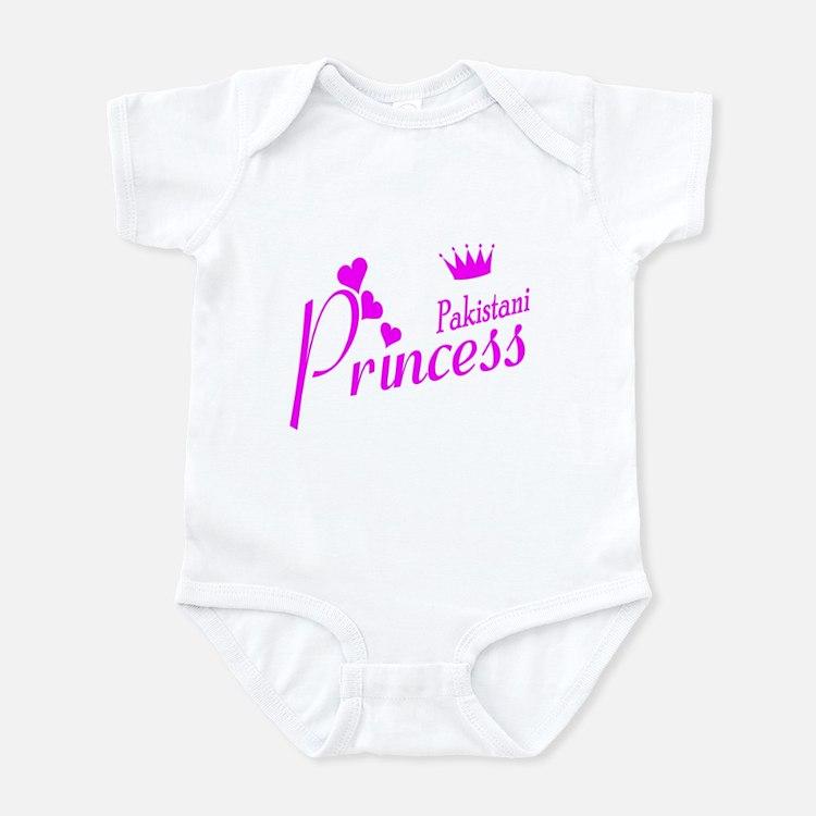Pakistani Princess Infant Bodysuit