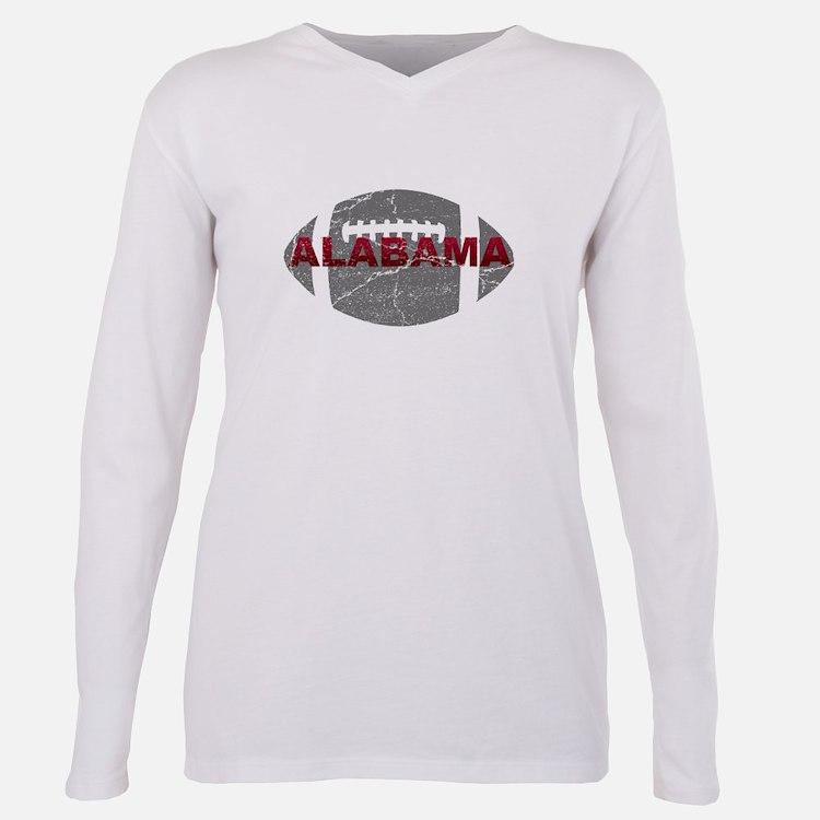 Cute Alabama football Plus Size Long Sleeve Tee