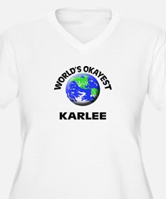 World's Okayest Karlee Plus Size T-Shirt