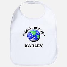 World's Okayest Karley Bib