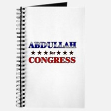 ABDULLAH for congress Journal
