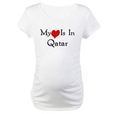 My Heart Is In Qatar Shirt