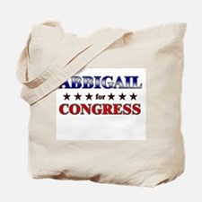 ABBIGAIL for congress Tote Bag