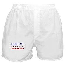 ABBIGAIL for congress Boxer Shorts
