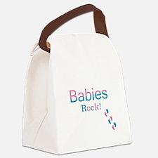 Babies Rock! Canvas Lunch Bag