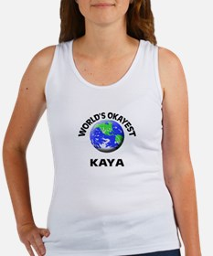 World's Okayest Kaya Tank Top