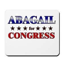 ABAGAIL for congress Mousepad