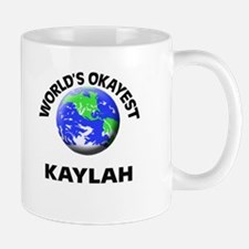 World's Okayest Kaylah Mugs