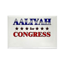AALIYAH for congress Rectangle Magnet
