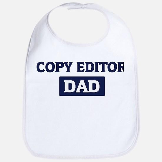 COPY EDITOR Dad Bib