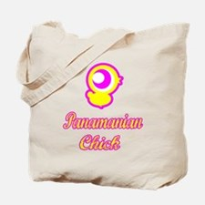 Panamian Chick Tote Bag