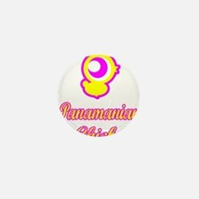 Panamian Chick Mini Button