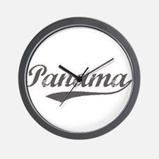 Panama vintage Wall Clock