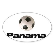 Panama Soccer Oval Decal