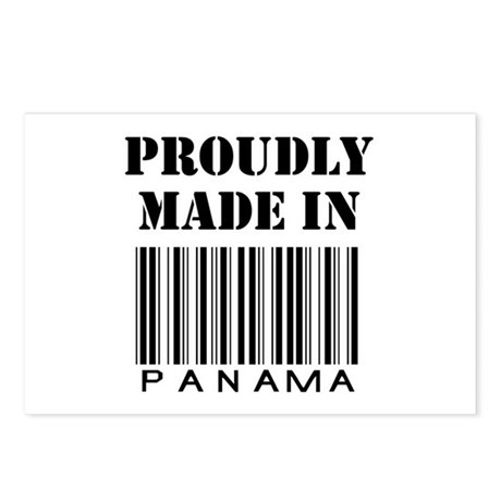 proudly made in Panama Postcards (Package of 8)