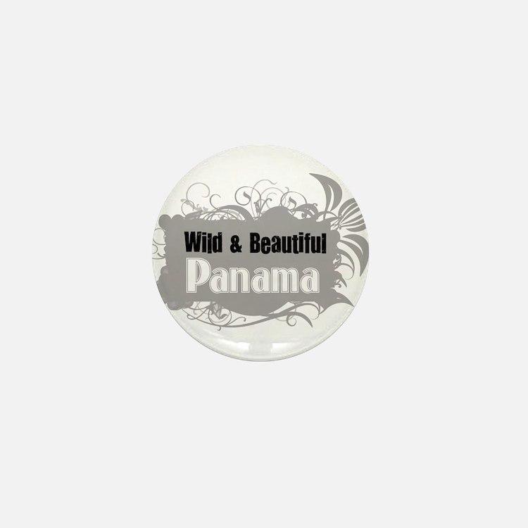Wild Panama Mini Button