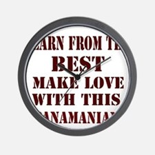 Learn best from Panamian Wall Clock