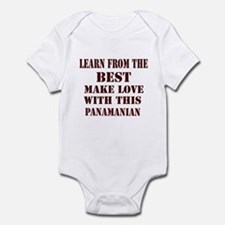 Learn best from Panamian Infant Bodysuit