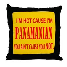 Hot Panamian Throw Pillow
