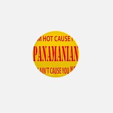 Hot Panamian Mini Button