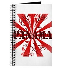 red vintage Panama Journal