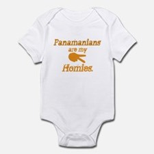 Panamians are my homies Infant Bodysuit