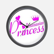 Panamian Princess Wall Clock