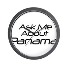 Ask me about Panama Wall Clock