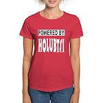 Powered by Holubtsi Women's Dark T-Shirt