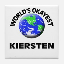 World's Okayest Kiersten Tile Coaster