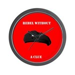 Che Revolution - Rebel Without a Clue Wall Clock