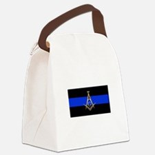 Masons Thin Blue Line Canvas Lunch Bag