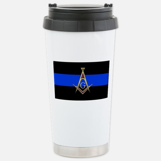 Masons Thin Blue Line Travel Mug
