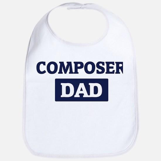 COMPOSER Dad Bib