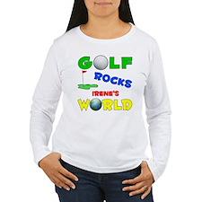 Golf Rocks Irene's World - T-Shirt