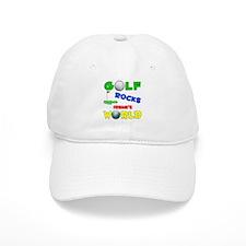 Golf Rocks Irene's World - Baseball Cap