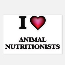 I love Animal Nutritionis Postcards (Package of 8)