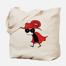 Red Death Tote Bag