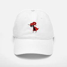 Red Death Baseball Baseball Cap