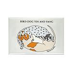 Birddog Yin & Yang Rectangle Magnet