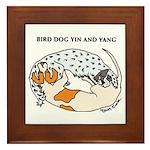 Birddog Yin & Yang Framed Tile/Art Work