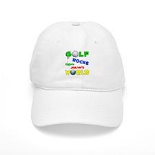 Golf Rocks Jailyn's World - Baseball Cap