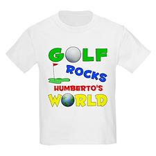 Golf Rocks Humberto's World - T-Shirt
