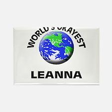 World's Okayest Leanna Magnets
