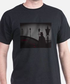Jack The Ripper On The Street T-Shirt