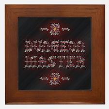 Dungeon Master Warded Framed Tile