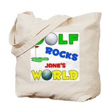 Golf Rocks Jane's World - Tote Bag