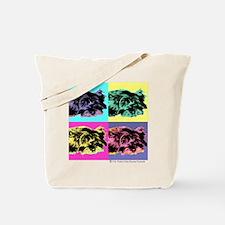 Pop Art Cairn Tote Bag