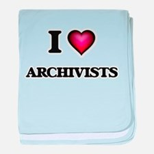 I love Archivists baby blanket